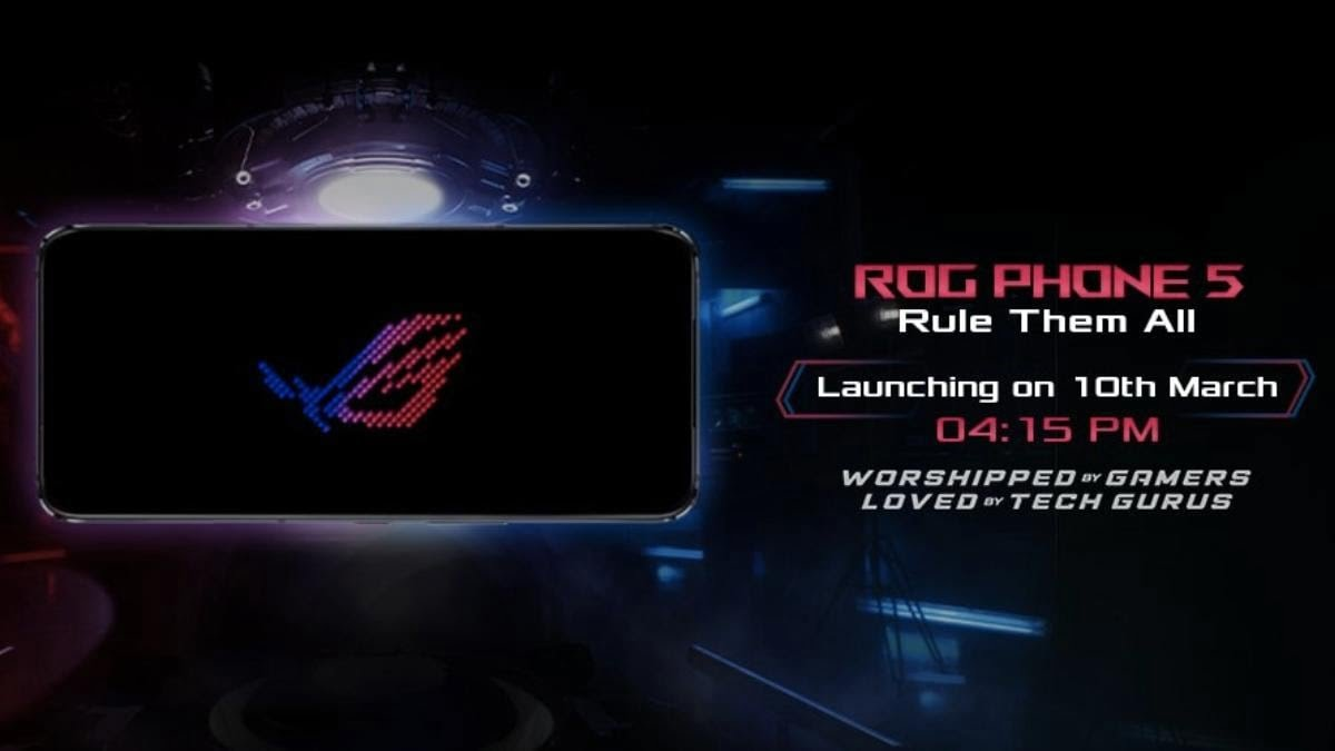 Read more about the article Asus ROG Phone 5 India launch on March 10