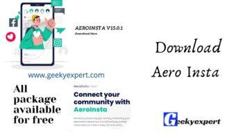 Download Aero Insta APK 15.0.1 Latest Version 2021