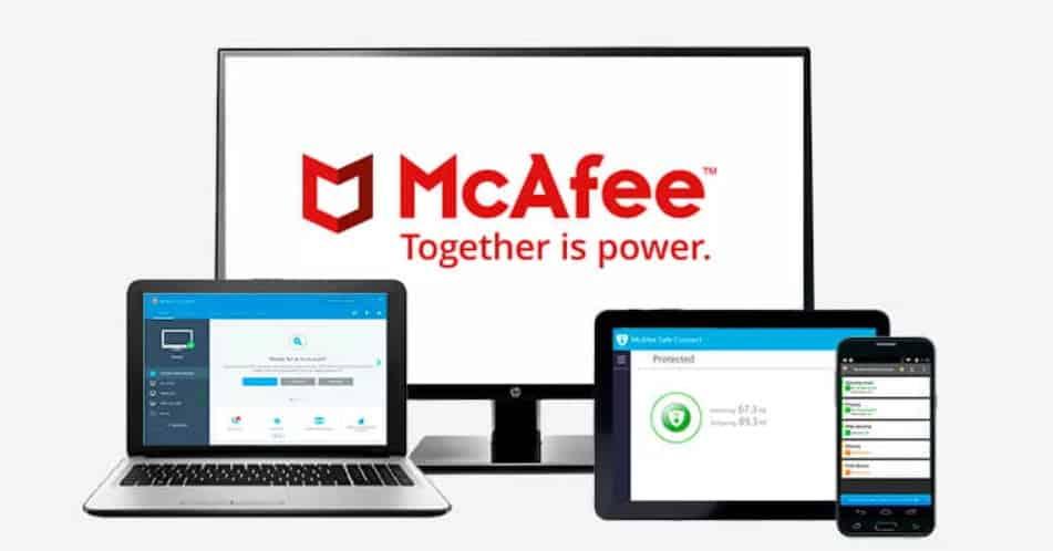 best antivirus MCAFEE