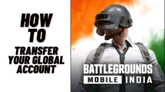 How To Transfer Global Account To Battlegrounds Mobile India